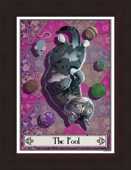 Framed Framed The Fool - Deadly Tarot Felis