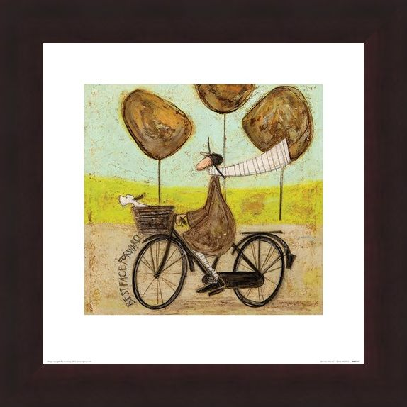 Framed Framed Best Face Forward - Sam Toft