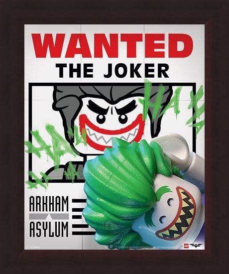 Framed Framed Wanted The Joker - Lego Batman
