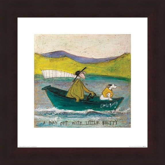 Framed Framed Sam Toft A Day out with Little Betty -
