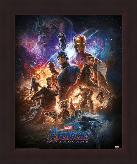 Framed Framed From the Ashes - Avengers: Endgame