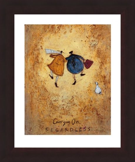 Framed Framed Carrying On Regardless - Sam Toft