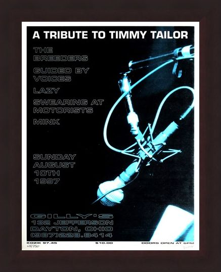 Framed Framed A Tribute to Timmy Tailor - Frank Kozik