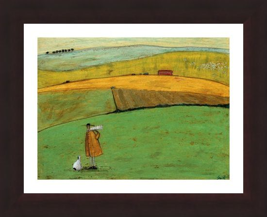 Framed Framed Doris Wants to Take the Bus - Sam Toft