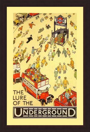 Framed Framed The Lure of the Underground - Transport for London