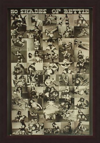 Framed Framed 50 Shades of Bettie - Bettie Page