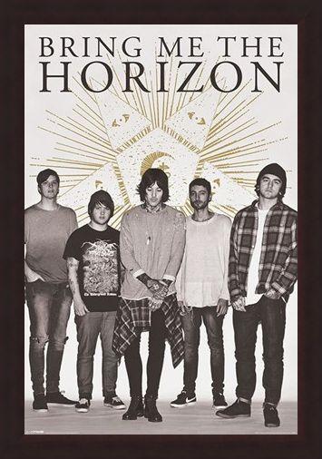 Framed Framed Star - Bring Me The Horizon