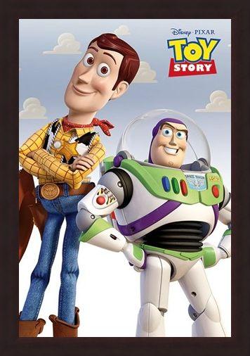Framed Framed Woody & Buzz - Toy Story