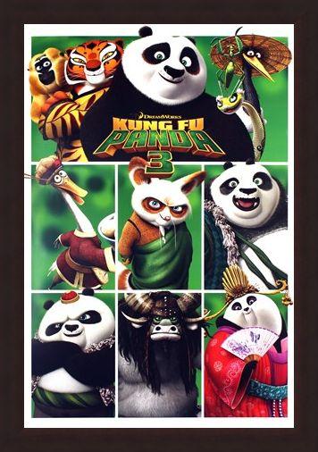 Framed Framed A Martial Arts Masterpiece - Kung Fu Panda 3