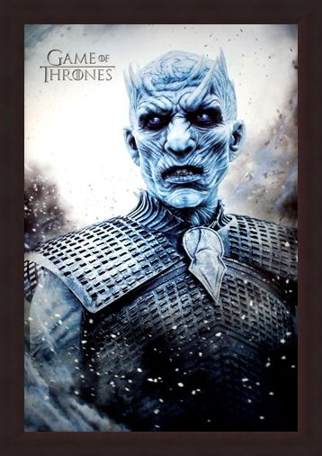 Framed Framed Night King - Game Of Thrones