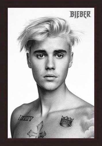 Framed Framed Pin up - Justin Bieber