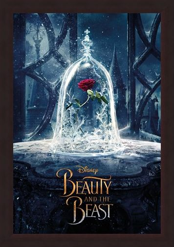 Framed Framed Enchanted Rose - Beauty and the Beast Movie