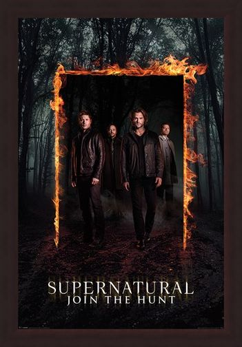 Framed Framed Through The Fire And Flames - Supernatural
