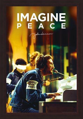 Framed Framed People For Peace - John Lennon