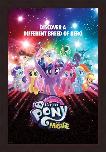 Framed Framed A Different Breed of Hero - My Little Pony The Movie