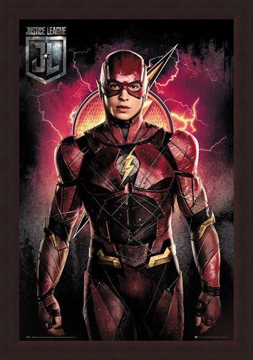 Framed Framed Flash Solo - Justice League