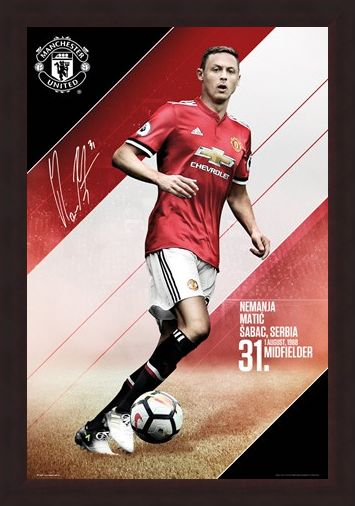 Framed Framed Matic 17-18 - Manchester United