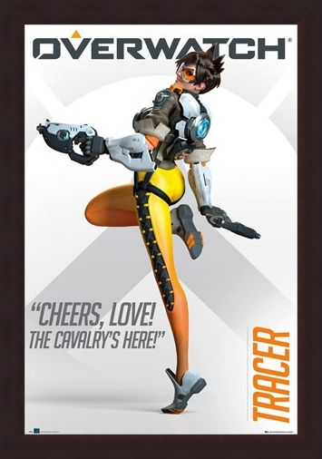 Framed Framed Overwatch Tracer - The Cavalry's Here!