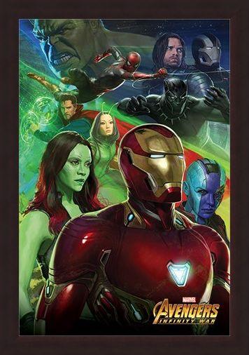 Framed Framed Iron Man - Avengers Infinity War