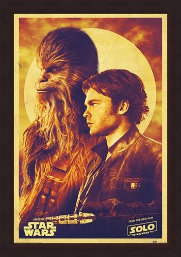 Framed Framed Han and Chewie - Solo: A Star Wars Story