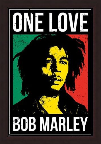 Framed Framed One Love - Bob Marley