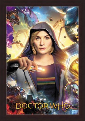 Framed Framed Universe Calling - Doctor Who
