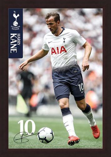 Framed Framed Kane 18-19 - Tottenham Hotspur