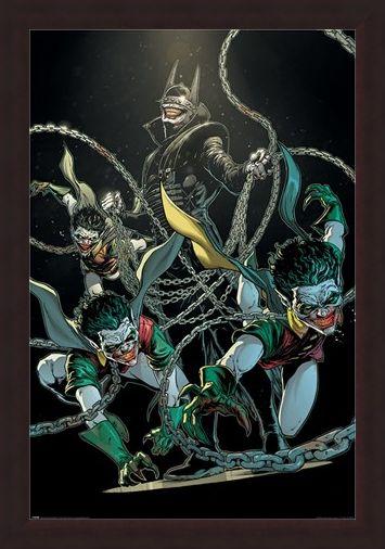 Framed Framed The Bat Who Laughs - Batman
