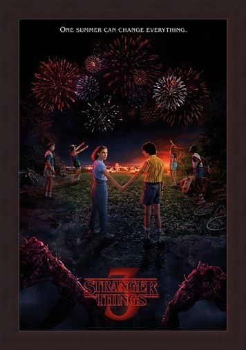 Framed Framed One Summer - Stranger Things 3