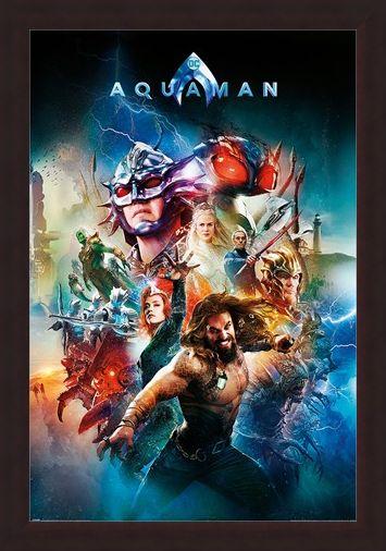 Framed Framed Battle For Atlantis - Aquaman