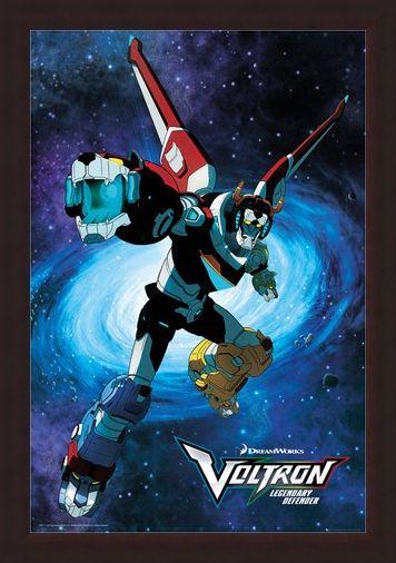Framed Framed Legendary Defender - Voltron