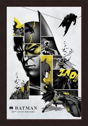 Framed Framed 80th Anniversary - Batman