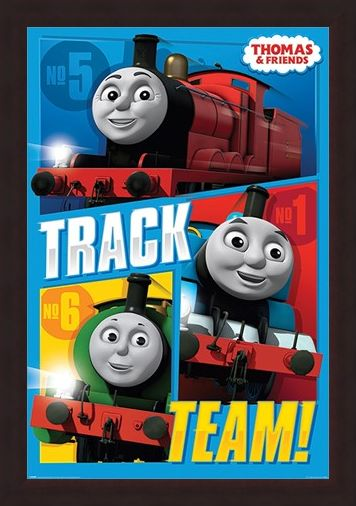 Framed Framed Track Team - Thomas & Friends