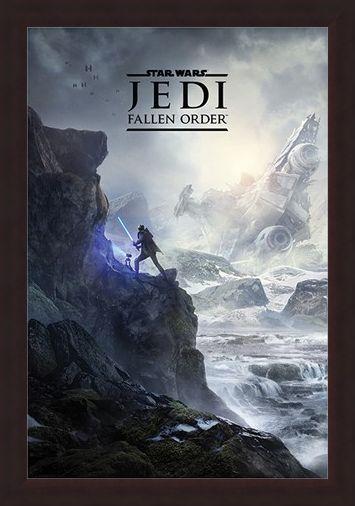 Framed Framed Jedi Fallen Order - Star Wars