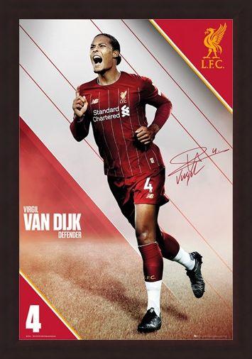 Framed Framed Van Dijk 19-20 - Liverpool