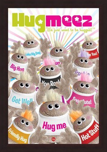 Framed Framed Hug Meez - Soo Cute!