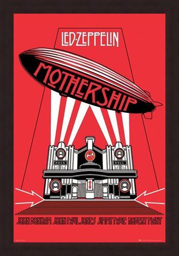 Framed Framed The Mothership - Led Zeppelin