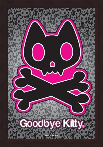 Framed Framed Goodbye Kitty - David and Goliath