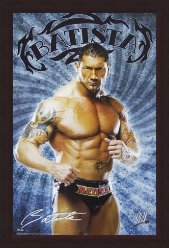 Framed Framed Batista - WWE