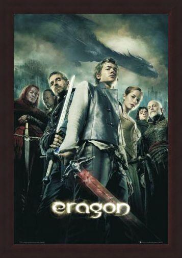 Framed Framed Eragon Movie One Sheet - Eragon