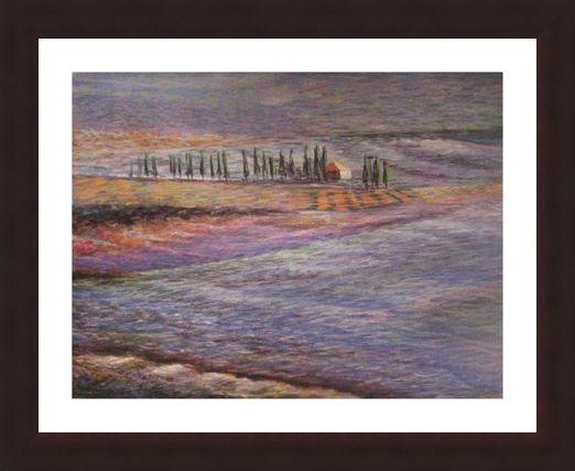 Framed Framed Tuscany No 7 - Stelio Scamanga