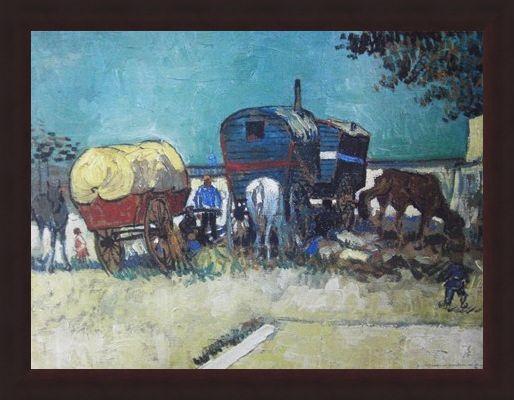 Framed Framed Trailers - Vincent Van Gogh