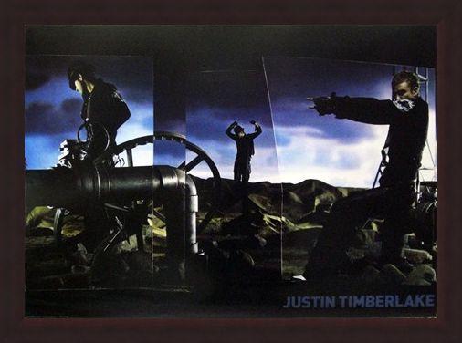 Framed Framed Justified - Justin Timberlake