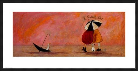Framed Framed A Sneaky One Art - Sam Toft