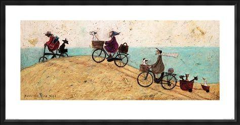 Framed Framed Electric Bike Ride - Sam Toft