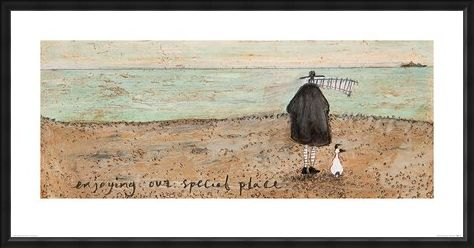 Framed Framed Enjoying our Special Place - Sam Toft