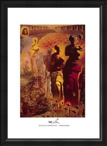 Framed Framed Hallucinogenic Toreador, 1969 - 70 - Salvador Dali