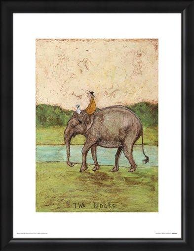 Framed Framed Two Riders - Sam Toft