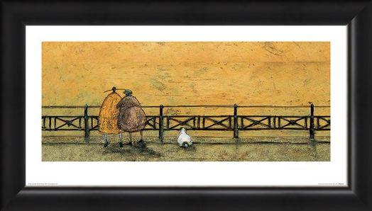 Framed Framed A Romantic Interlude PopArtUK - Sam Toft