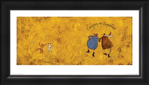 Framed Framed Carrying on Regardless II - Sam Toft